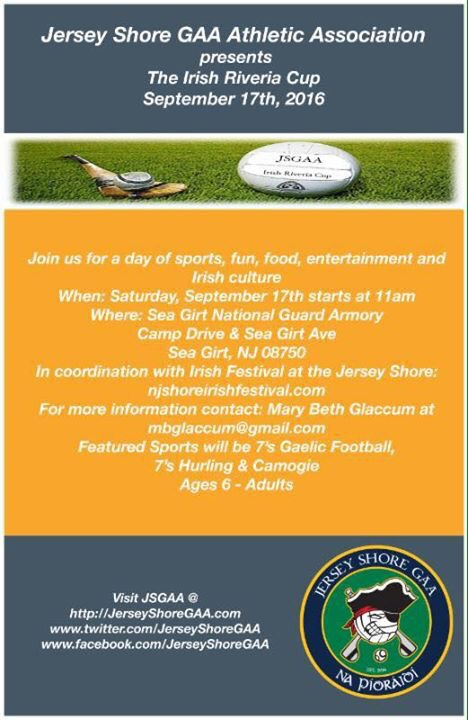 Irish Riviera Cup & NJ Shore Irish Festival
